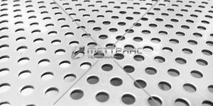 Лист алюминиевый перфорированный